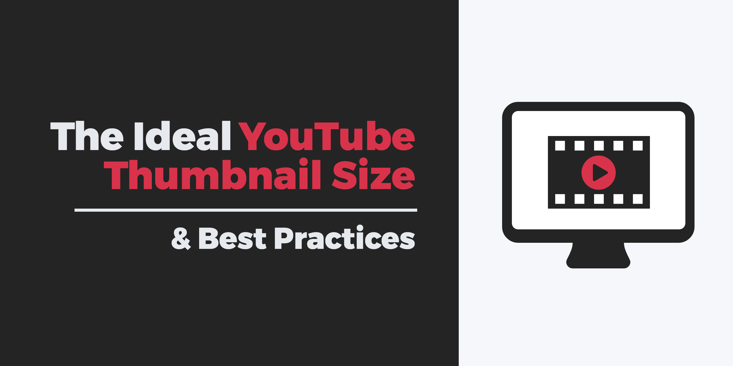 Bad Design Youtube The Ideal Youtube Thumbnail Size Best Practices