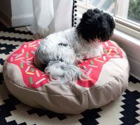 DIY Doughnut Dog Bed | Spoonflower Blog