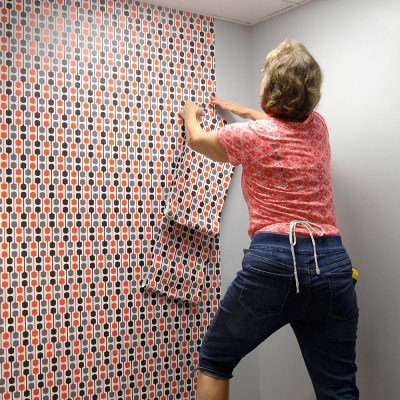 Improve a Restroom with Smooth Wallpaper | Spoonflower Blog