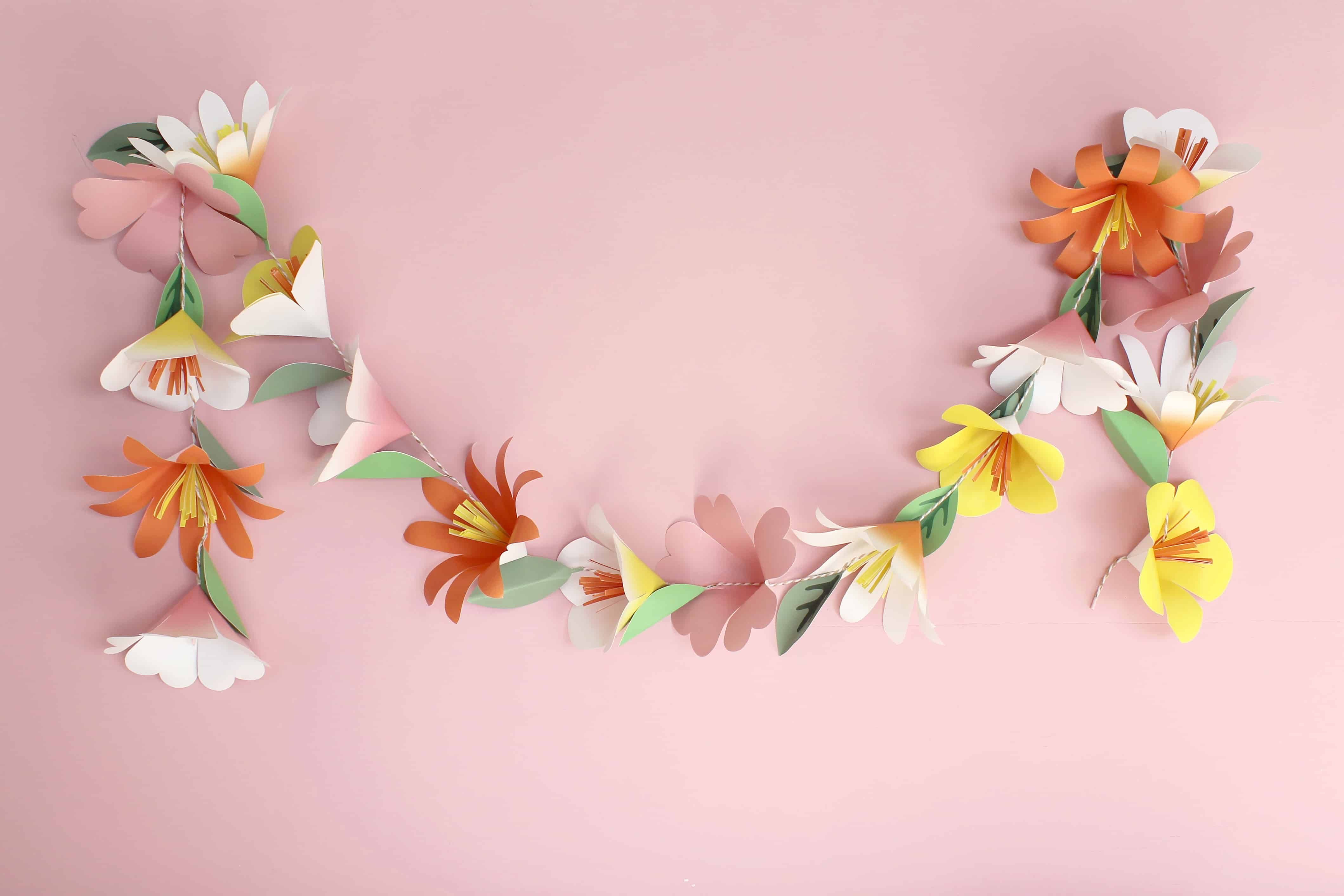 How To Make A Paper Flower Garland Spoonflower Blog
