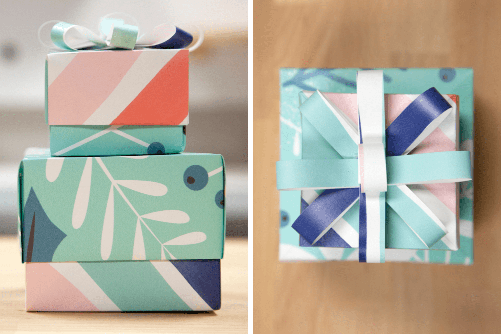 How To Make A Gift Box With Wrapping Paper Spoonflower Blog