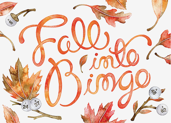 20 Beautiful Custom Lettering Typography Designs - fall flyer