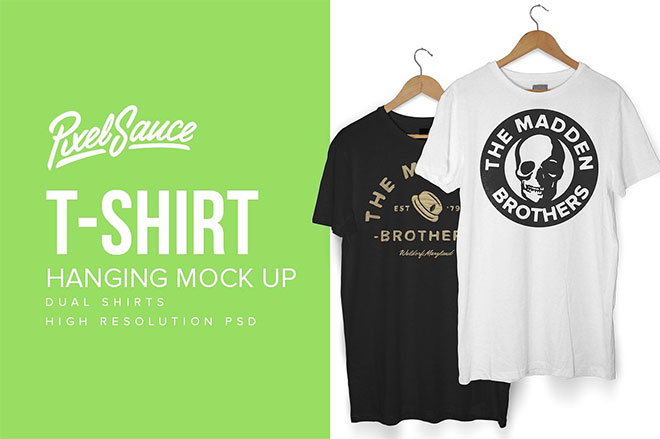 45 T-Shirt Mockup Templates You Can Download for Free