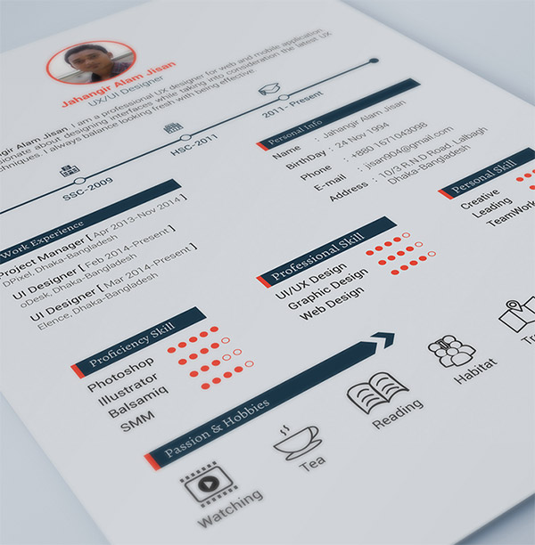 clement loyer cv template