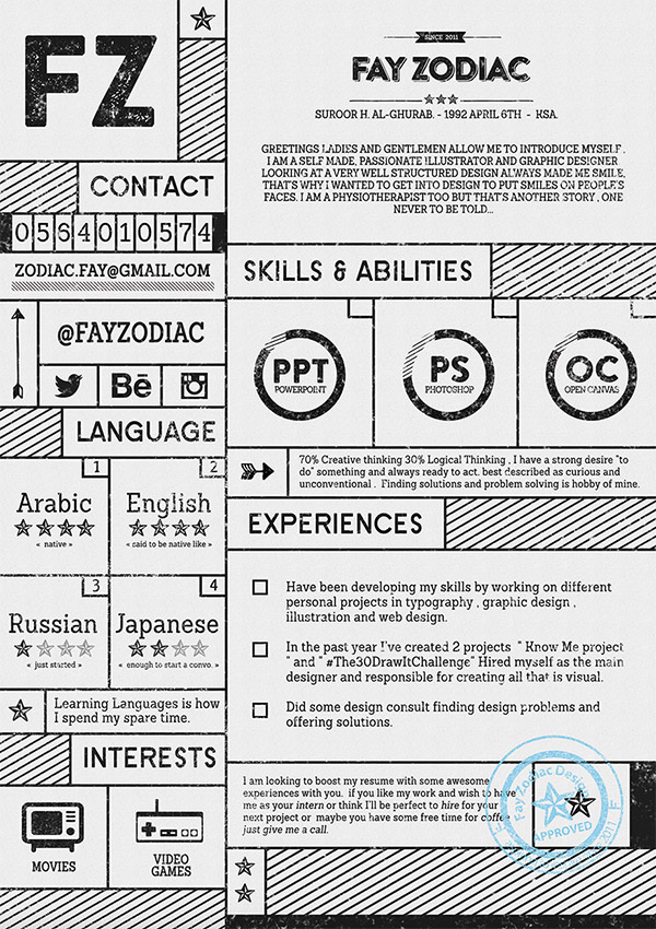 20 Free Editable CV/Resume Templates for PS  AI - real free resume templates