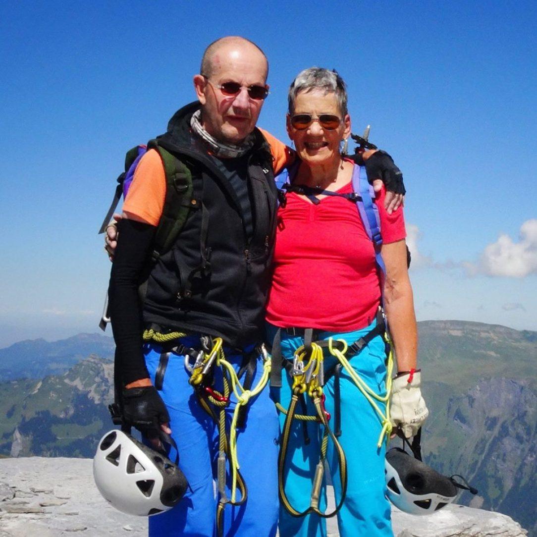 Alexander Luczy s manželkou Monique