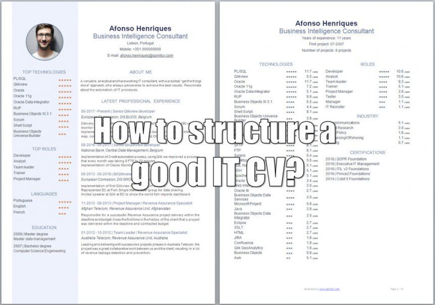IT Recruitment Archives - Sprint CV - Your IT CV in a Sprint Blog