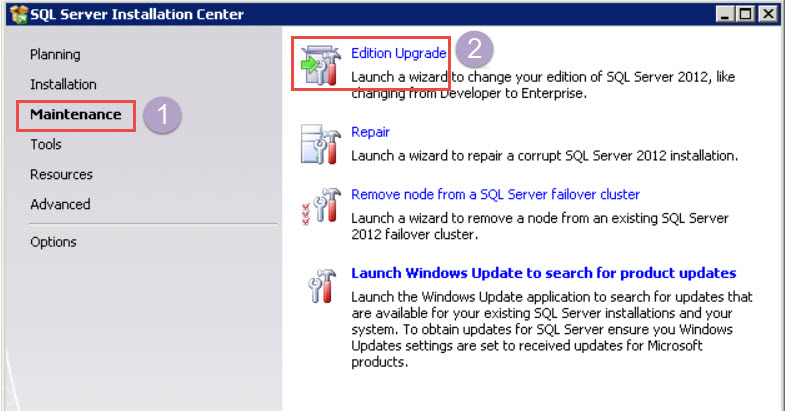 SQL server 2012 enterprise evaluation version is expired how to