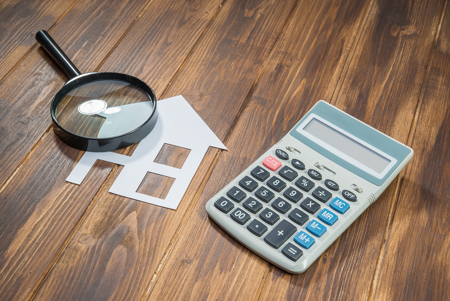 buy house Mortgage calculations calculator with Magnifier Searching