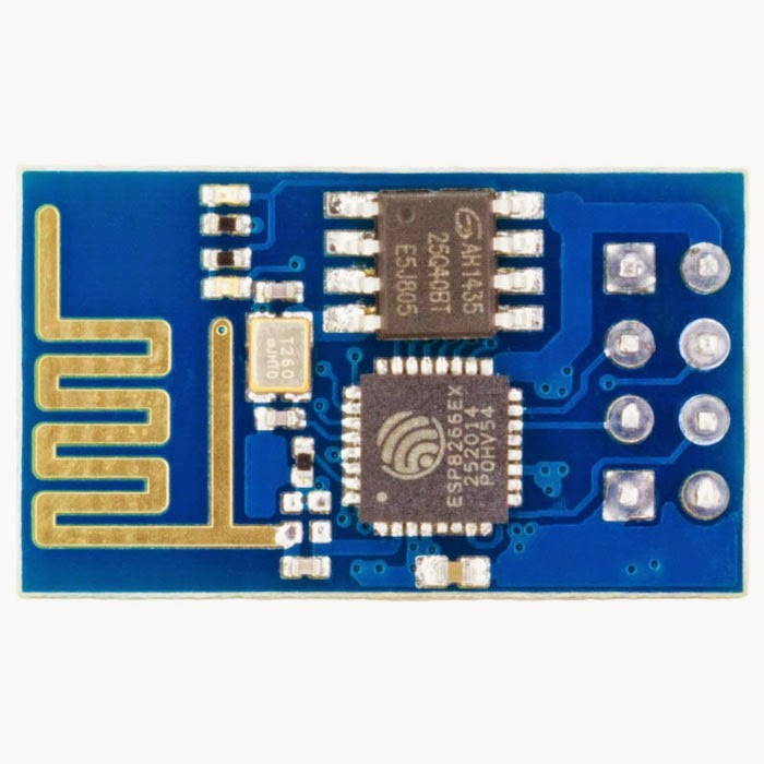 ESP8266 module comparison: ESP-01, ESP-05, ESP-12, ESP-201, Test Board and NodeMCU