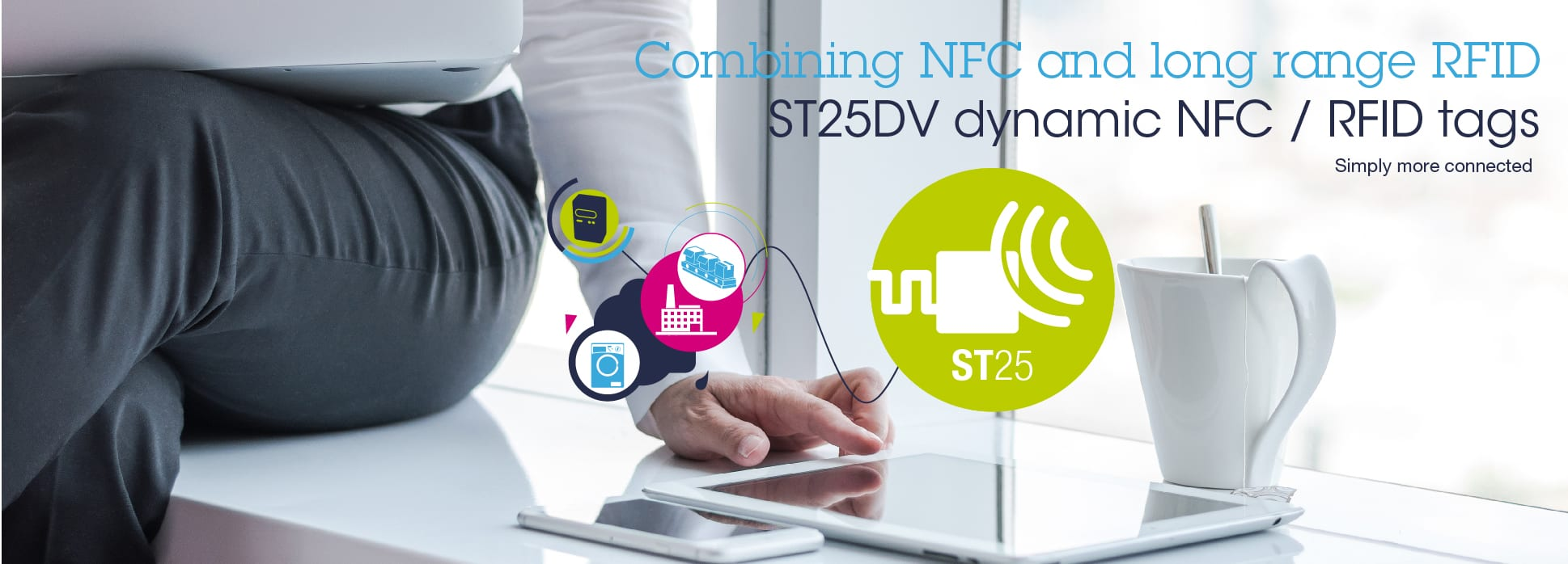 Nfc Tags St25dv Dual Interface Nfc Tags
