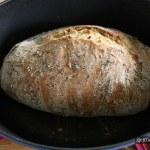 La cuisson à 240°C est terminée
