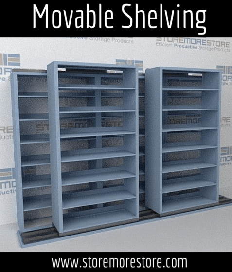 Movable Shelving What Type Is Right For Your Storage Needs