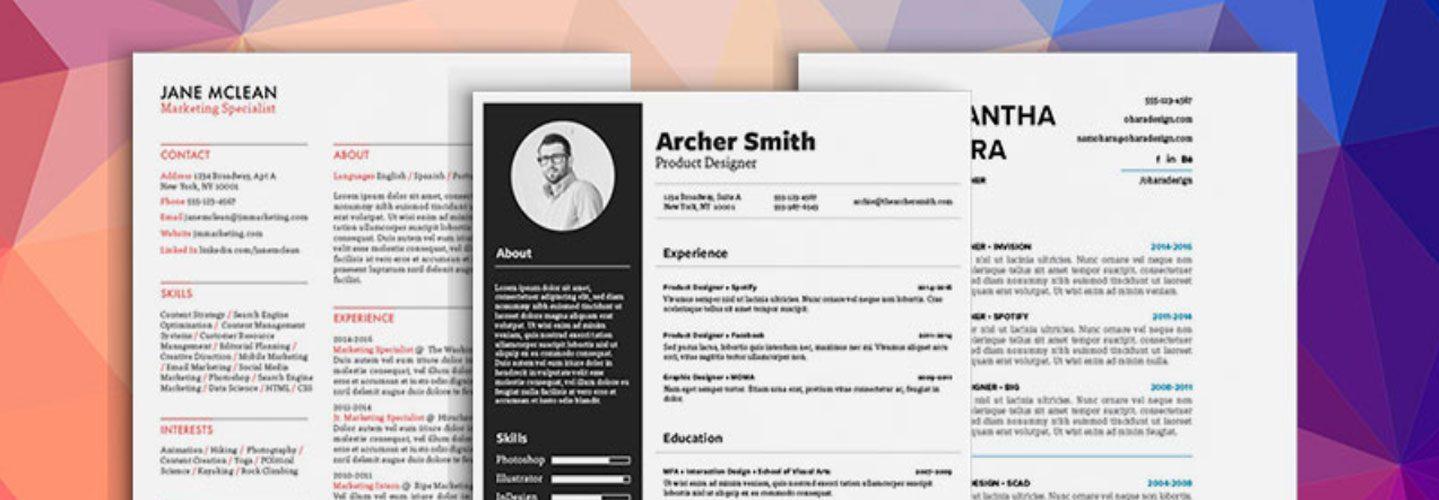 How to Design Unique Resumes with Stock Vectors - Storyblocks Blog - unique resumes