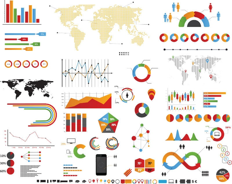 20 Vector Chart Templates for Awesome Presentations - Storyblocks Blog - eye chart template