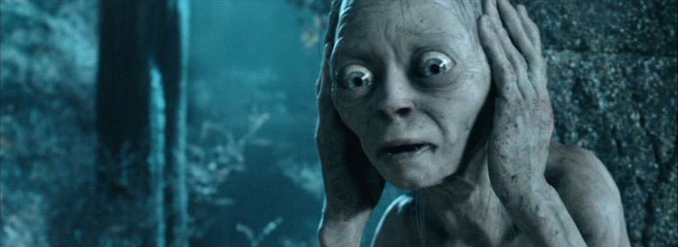 Gollum's Not Listening