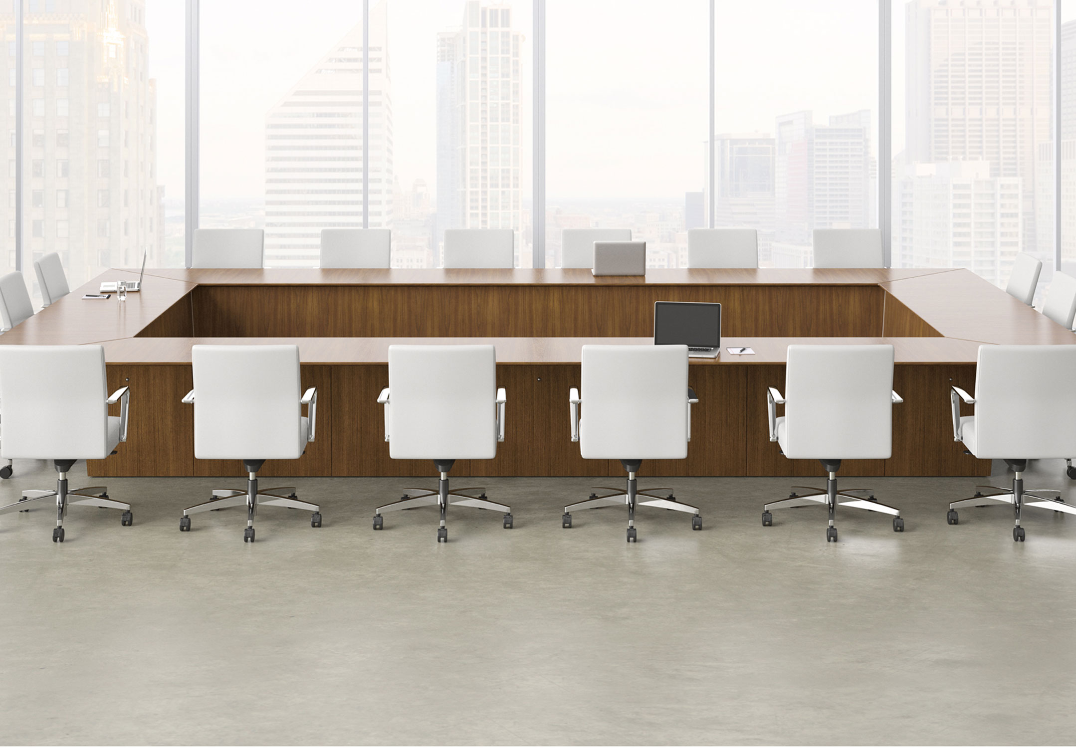 Meeting Room Tables Anatomy Of A Great Conference Table Modern Office Furniture