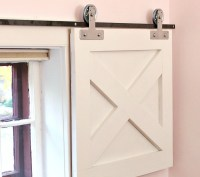 DIY: How to Make Barn Door Window Coverings