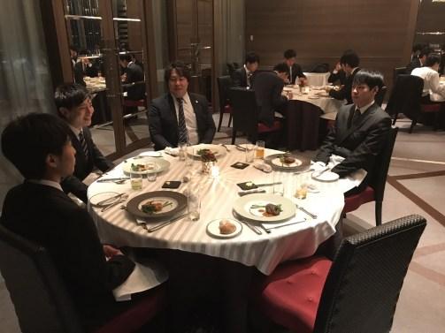 2018年度 内定式 会食編_35