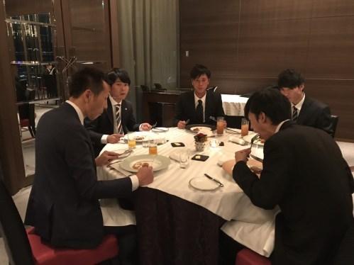 2018年度 内定式 会食編_36