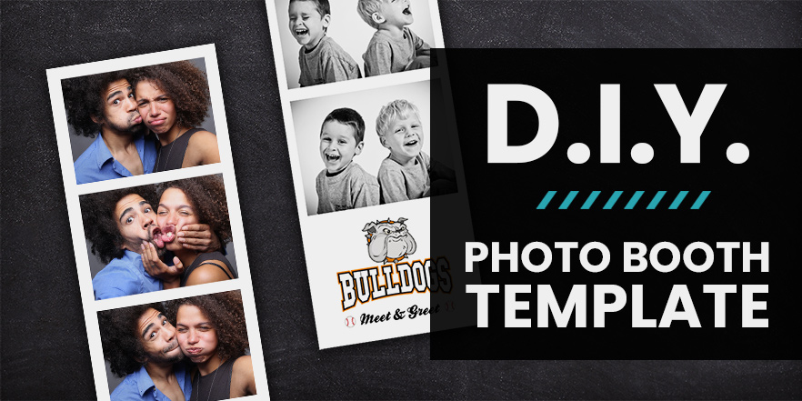 DIY Free Photo Booth Strip Template Download - The Event  Party