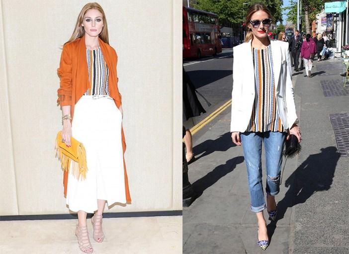 Olivia Palermo wears Zara WWW