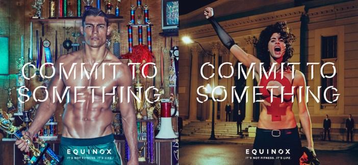 'Commit to Something' Equinox - Best PR Stunt Ideas - Stylight Blog