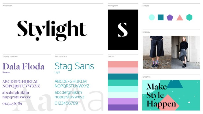 Stylight company rebranding process 2015