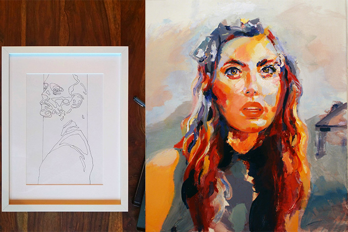 Painting and drawing with Francesco Gatti Stylight