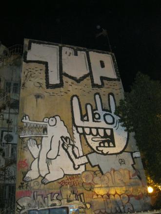 Graffiti in Greece