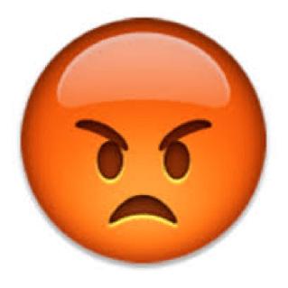 frowning emoji