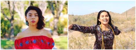 Phoenix Poetry Series Anna Flores and Megan Atencia