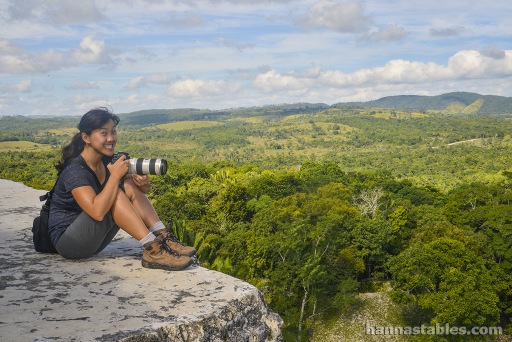 On assignment among the Mayan ruins of Belize.