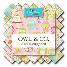 Owl & Co von Riley Blake Designs bei Swafing
