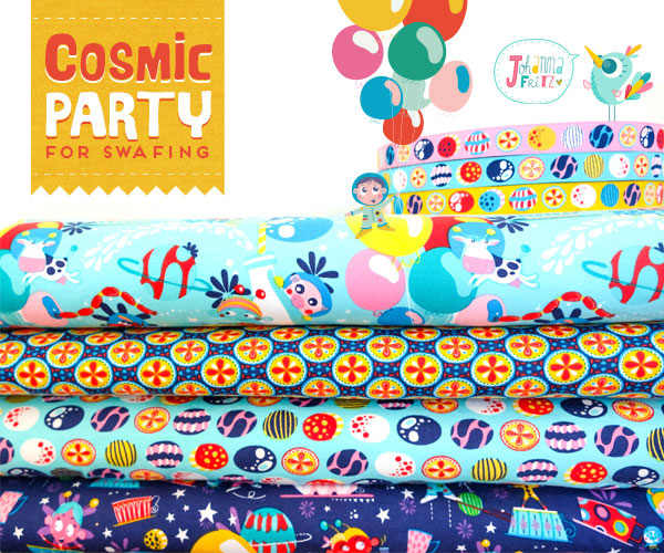 Cosmic Party for Swafing Johanna Fritz