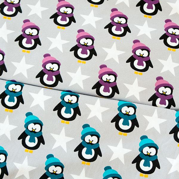 Vera Jersey mit Pinguinen von Swafing