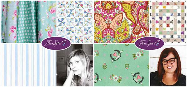 Die zwei neuen Lagerkollektionen von Tanya Whelan und Tula Pink