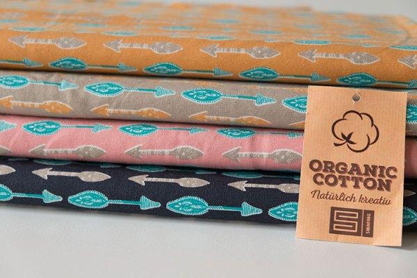 Swafing Organic Jersey mit Pfeilen