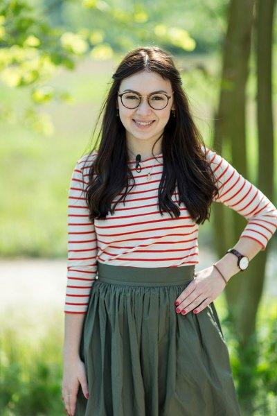 Kandidatin Anika Weimert