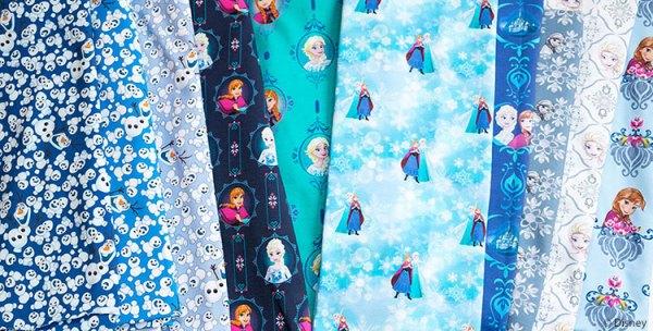 Disney Stoffe: Sweat und Jersey von Frozen - Die Eiskönigin
