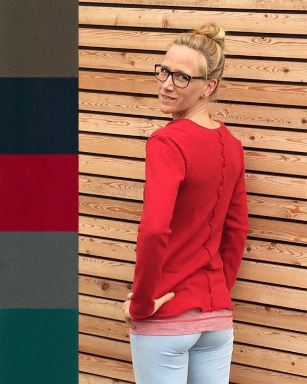 Pullover aus Strickstoff Dagi