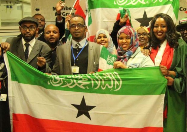 Campaigners after Tower Hamlets 'recognition' vote pressing for Britain to formally accept breakaway Somaliland in November 2015
