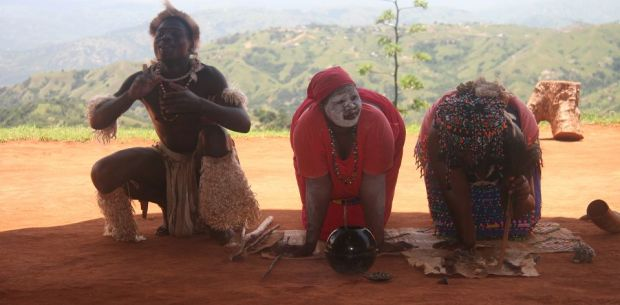 Sangomas (mediums for the ancestors) play a strong rule in Zulu life © Image courtesy Mark
