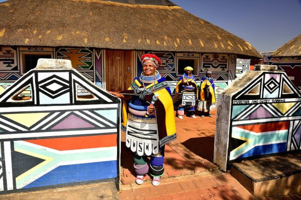 Ndebele Village, Mpumalanga, South Africa.