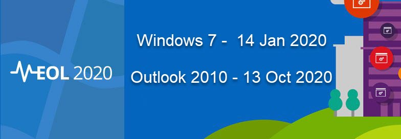 Microsoft to End Extended Support for Windows 7  Office 2010 in 2020