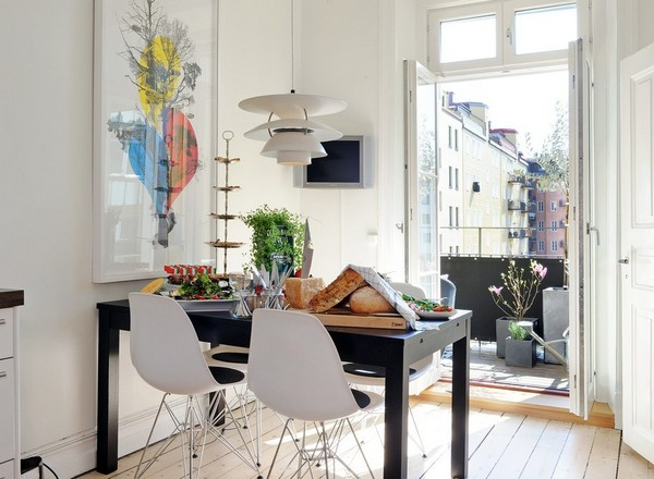 15 grosse Ideen für kleine Wohnungen Sweet Home - esszimmer 17 qm zu klein