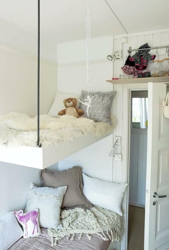 15 grosse Ideen für kleine Wohnungen Sweet Home - schlafzimmer ideen fr wenig platz
