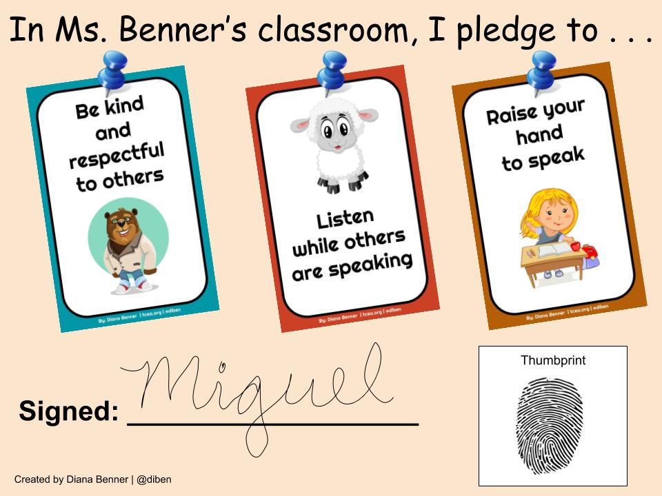 Display Classroom Expectation Posters This School Year \u2022 TechNotes Blog