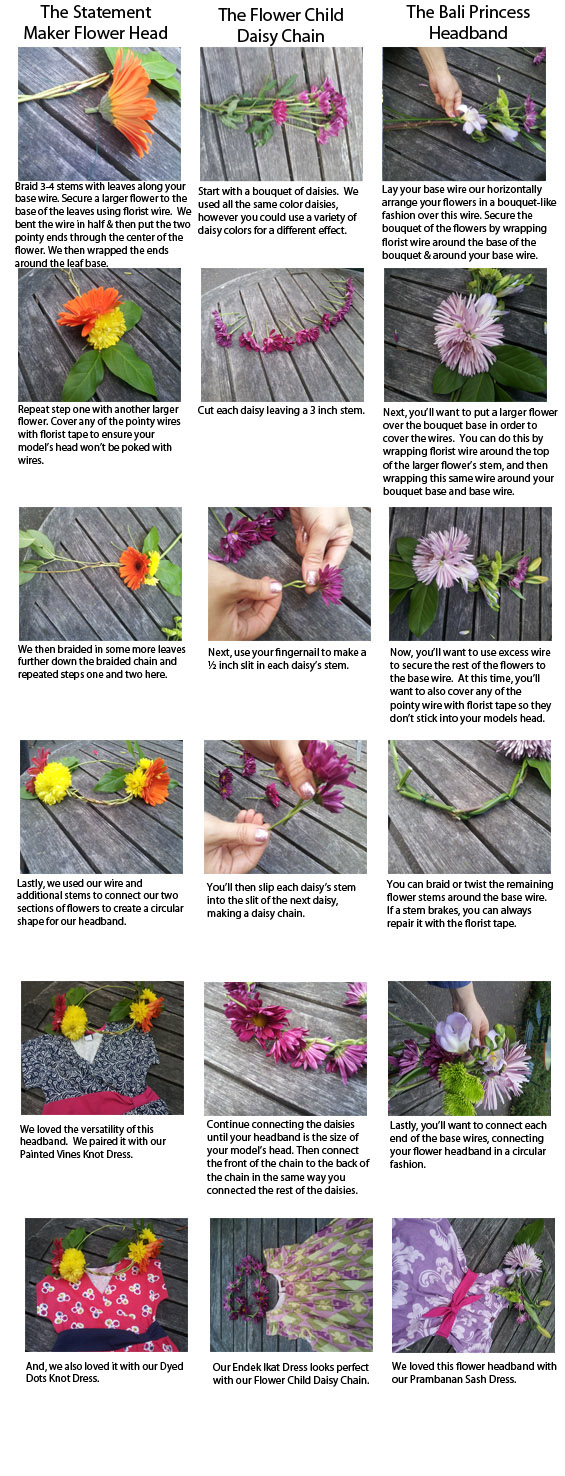 DIY- How to make a Flower Head band