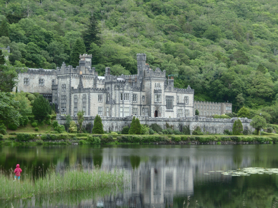 Kylemore Abbey, in the Connemara region near Galway.